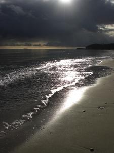 Hochzeit am Strand von Göhren im Traumkleid
